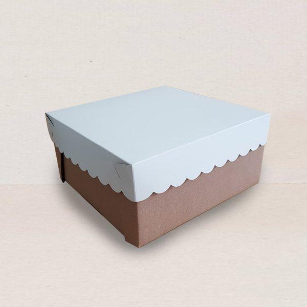 Caja de carton para alimentos o regalos