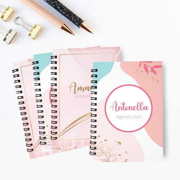 Agendas personalizadas tipo notebook